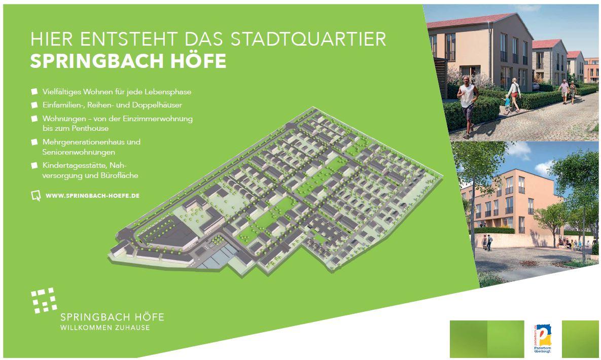 Springbach-Höfe- Unser neues Stadtquartier