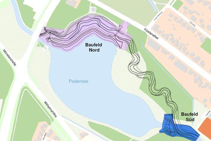 Baufelder 3. BA Paderseeumflut