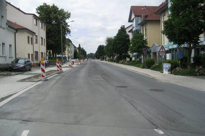 Erneuerung Borchener Straße