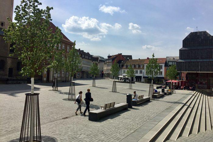 Domplatz-Marktplatz