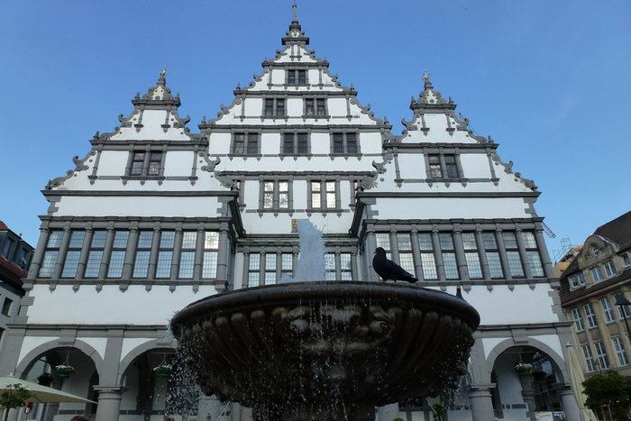 Rathaus-Ansicht