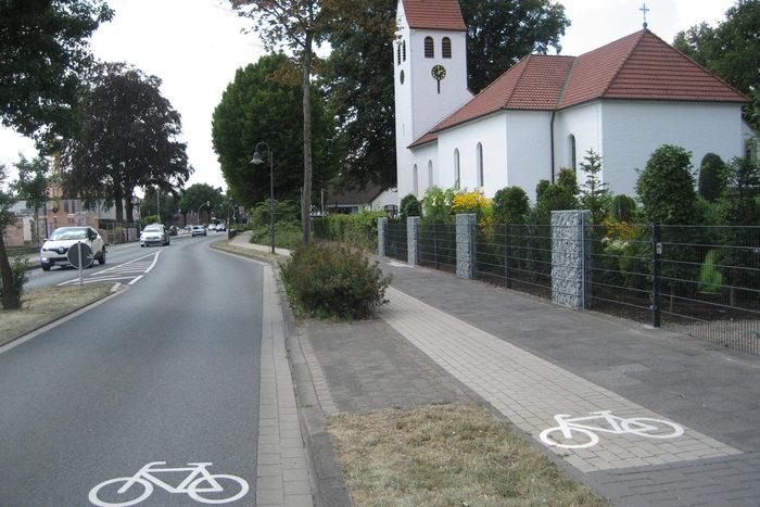 Aufhebung Benutzungspflicht Radweg Detmolder Straße Marienloh