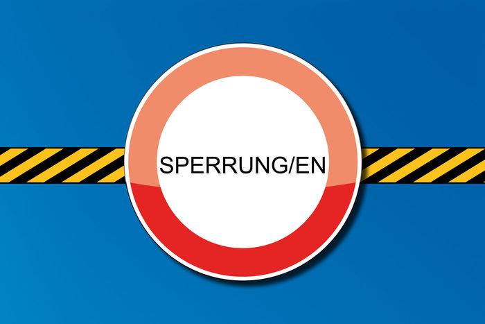 Marstallstraße ab Freitag gesperrt