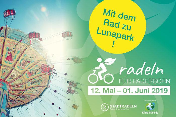 Mit dem Rad zu Lunapark