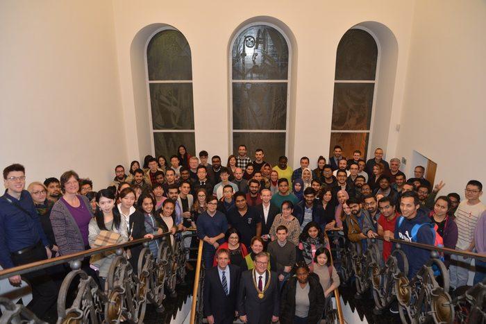 Empfang der internationalen Studierenden