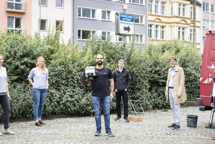 Digitales Parkplatz-Management