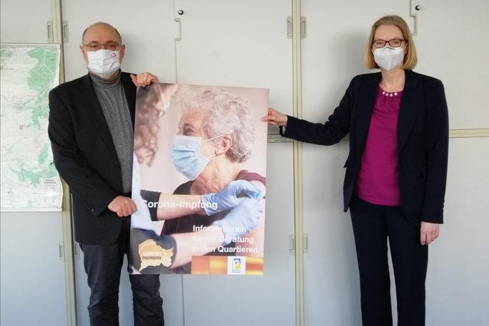 Ehrenamtsarbeit Impfzentrum