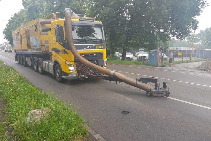 Demarkierung Detmolder Straße