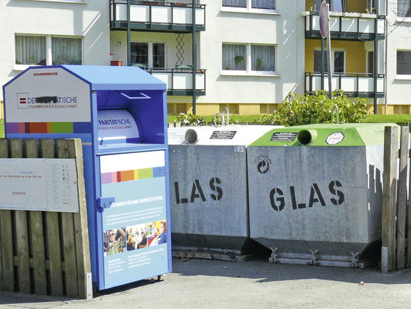 Recyclingstelle in Paderborn