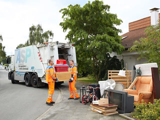 Bulk rubbish-collection