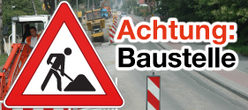 Logo Achtung Baustelle in Paderborn