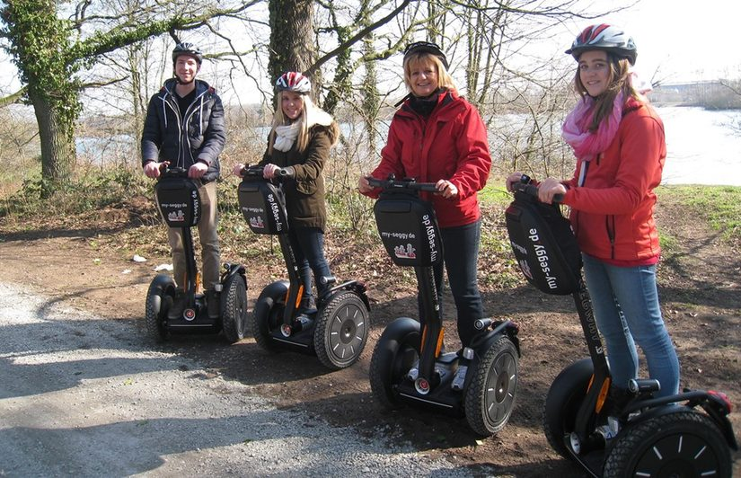 Segway-Tour am Lippesee
